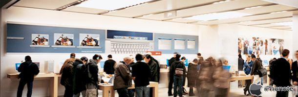Nouvel Apple Store au CAP 3000 à Nice !