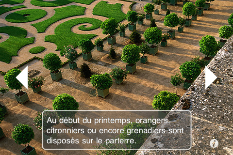 application jardins de versailles iphonote