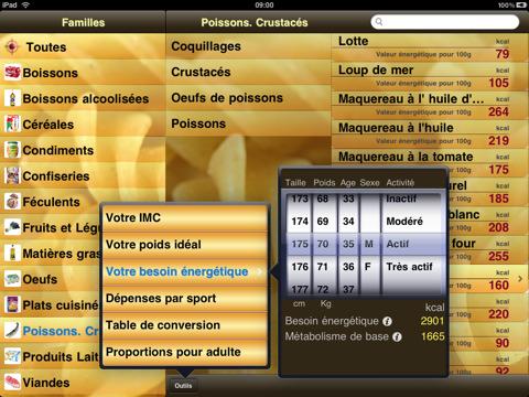 Application table kcal hd ipad actualit s apple et high tech for Sur la table application