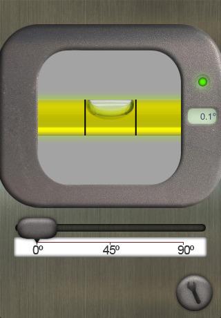 Application inivelle niveau bulle pour l 39 iphone - Application pour mesurer une piece ...
