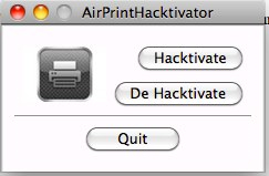 AirPrint : le second souffle ! Avec AirPrint Hacktivator !