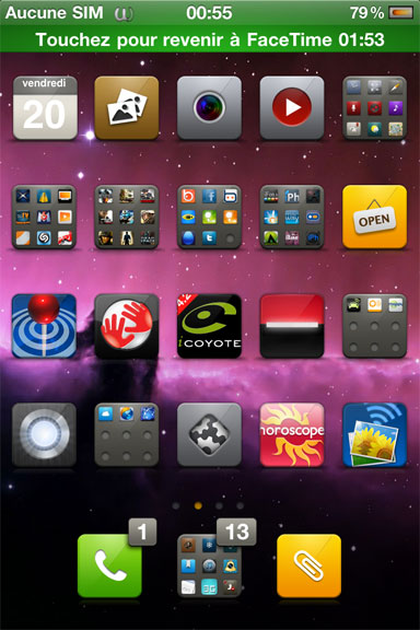 FaceTime – Appel FaceTime sans carte sim !!!