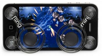 News Accessoires : Fling Mini – Un joystick pour vos iPhone & iPod Touch