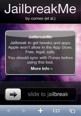 Jailbreak Untethered iPhone 4S iOS 5 : Attention !!!
