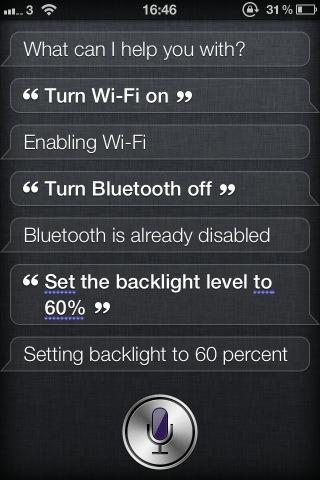 Siri pourrait contrôler les fonctions SBSettings !