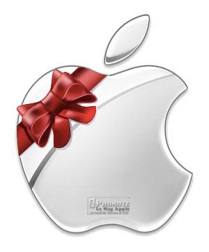 Joyeux Noel Apple.La Magie De Noel A Opere Un Iphone Un Ipad Un Apple Tv