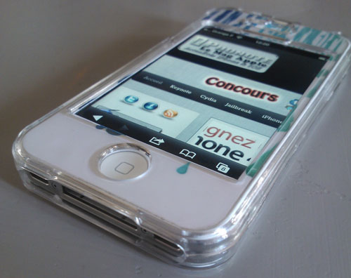 concours gagner iphone 4s