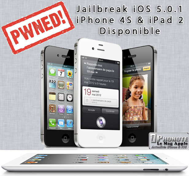 jailbreak iphone 4s jailbreak untethered ios 5 0 1 pour iphone 4s amp 2 12541