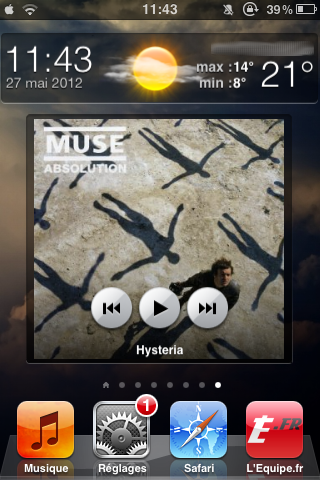 Music Widget (for Dashboard X) 1