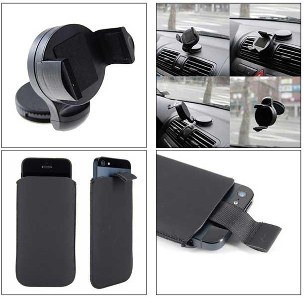 iphone 5 le pack 7 accessoires platinum pour seulement. Black Bedroom Furniture Sets. Home Design Ideas