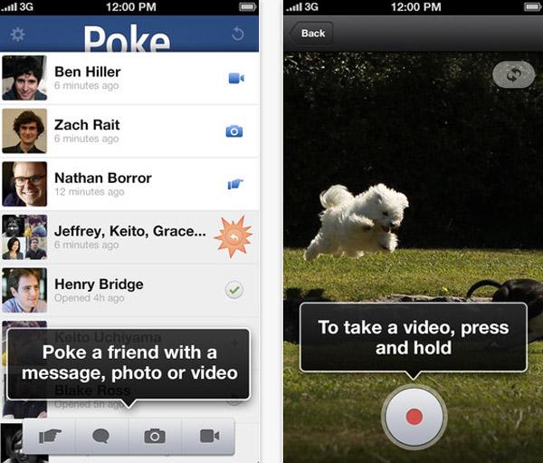 Poke-facebook-message