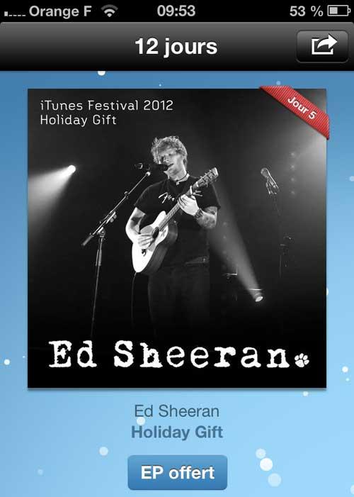 ed-sheeran-12-jours-itunes