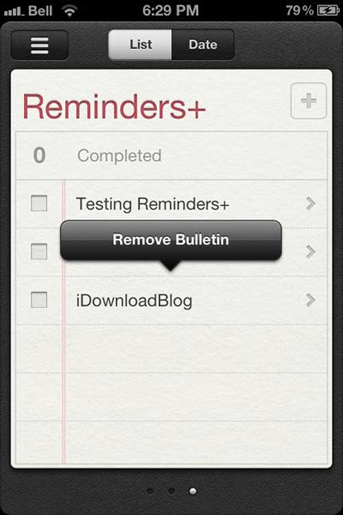 Reminders+-remove-bulletin