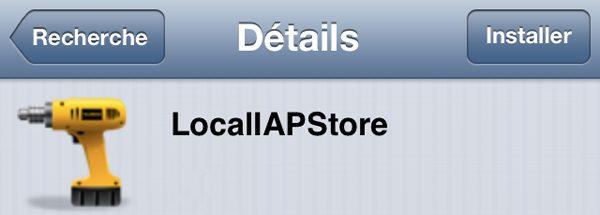 LocaliAPStore ne fonctionne plus : Installer la version