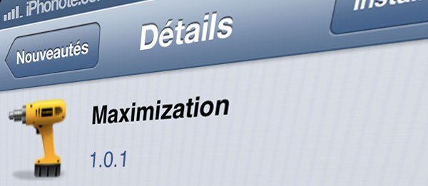 maximization-tweak-cydia
