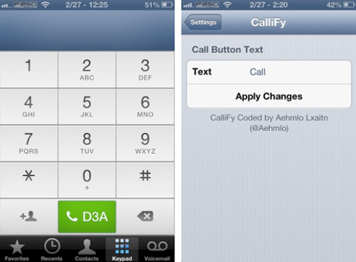 Callify-cydia