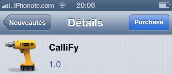 Callify-tweak