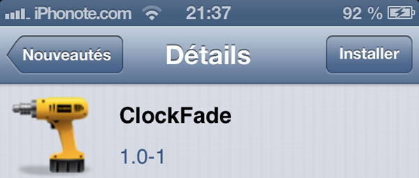 ClockFade-tweak