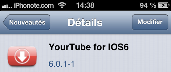 Yourtube-iOS6-cydia