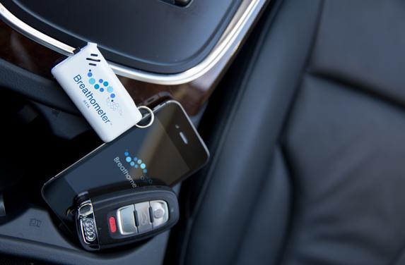 car-breathometer