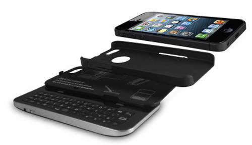 accessoire coque iphone 5 avec clavier bluetooth. Black Bedroom Furniture Sets. Home Design Ideas