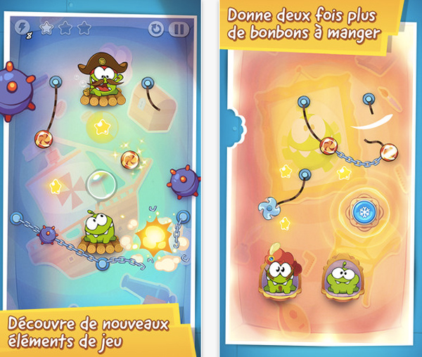 Cut the rope 2 télécharger