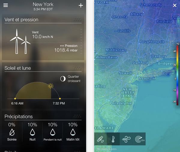 Yahoo-meteo-app