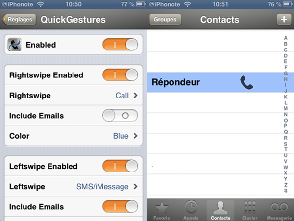 QuickGestures-Tweak-Cydia