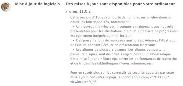 iTunes-11.0.3-Apple-telecharger