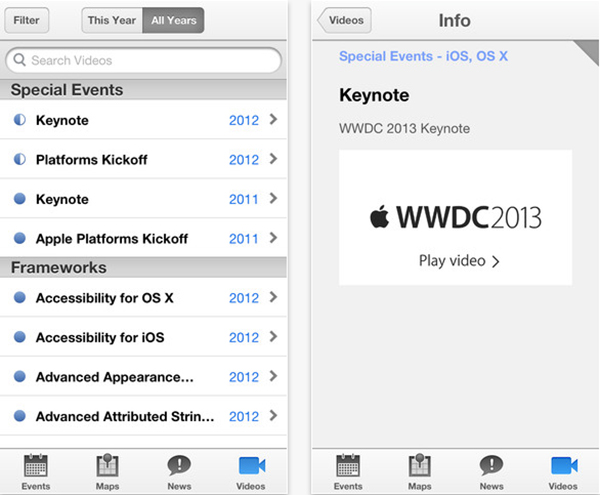 application-WWDC-mise-a-jour