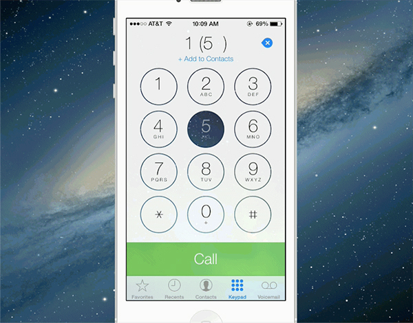 iOS-7-UI-keypads-in-Phone