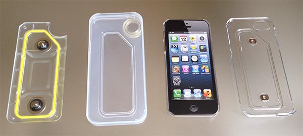 coque pour l'eau iphone 5