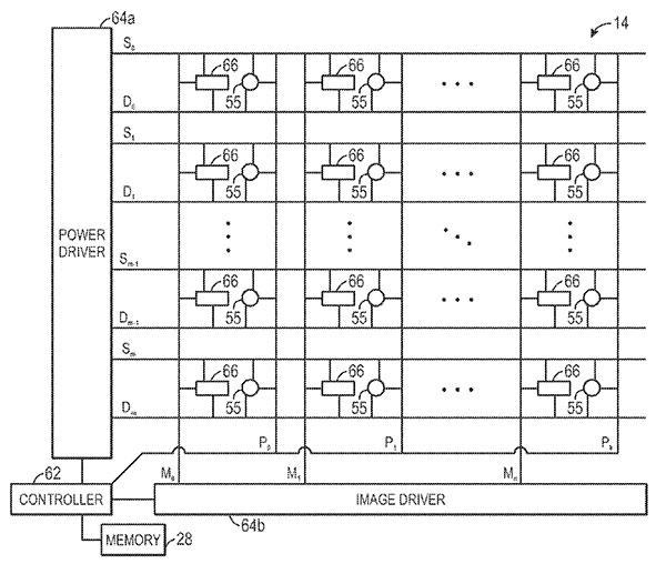 Brevet-Apple-integration-de-capteurs-pour-ameliorer-l-affichage-de-l-ecran-OLED-iphonote-2