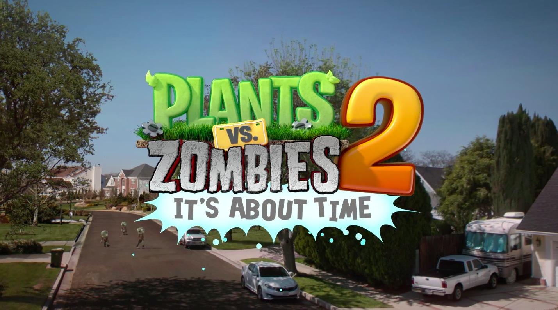 nouveaux contenus pour plantes vs zombies 2