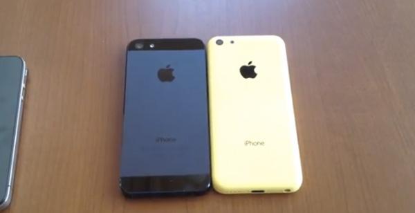 une nouvelle vid o du dos de l 39 iphone 5c en jaune. Black Bedroom Furniture Sets. Home Design Ideas