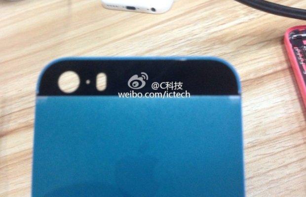 iPhone 5S-coque-bleue