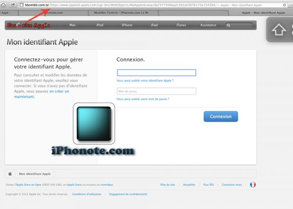 phishing-ID-apple-mot-de-passe-oublie-iphonote