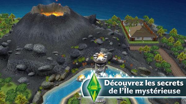 Mise-a-jour-des-Sims-Gratuit-Debloquez-les-secrets-de-l-ile-mysterieuse-iphonote-2