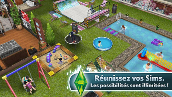 Sims Freeplay début datant