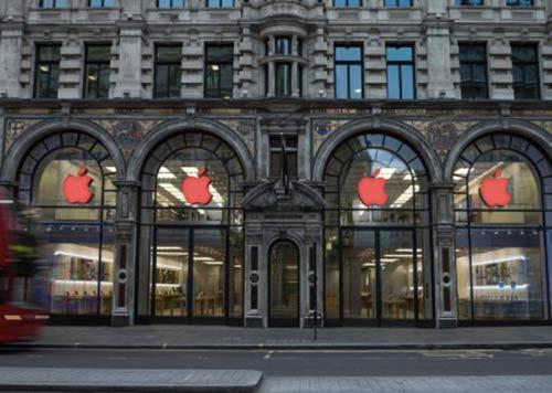 Apple-soutient-la-journee-mondiale-du-SIDA-avec-sa-pomme-rouge-500x356