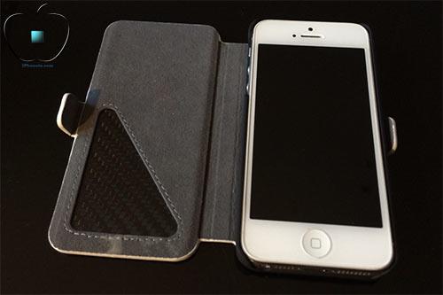 Review-etui-pour-iPhone-5-5S-en-Cuir-et-Fibre-de-Carbone-Ice-White-500x333