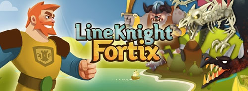 line-knight-fortix-disponible-sur-l-app-store-500x185