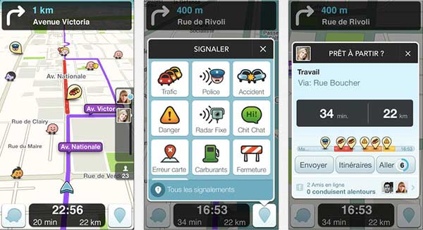 waze gps modifie les zones de danger et se synchronise avec le calendrier ios. Black Bedroom Furniture Sets. Home Design Ideas