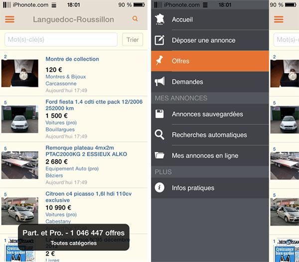 iphonote_leboncoin-ios-nouvelle-interface-ios-7-avec-menu-a-gauche-2