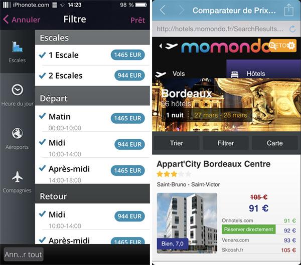 iphonote_momondo-reservations-vols-hotels-friend-compass-2