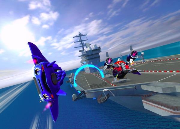 Sonic all stars racing transformed passe en gratuit - Telecharger sonic gratuit ...