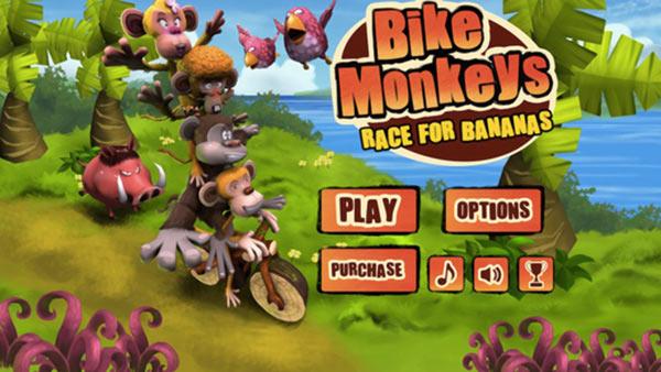 Bike-Monkey-Race-for-Bananas