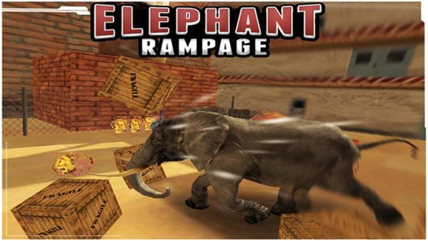Elephant-Rampage