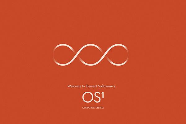 Ecran de bienvenue OS1