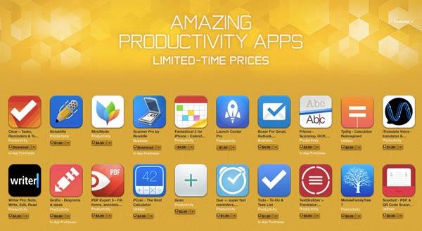 apple-baisse-de-prix-sur-plusieurs-applications-de-productivite-pour-un-temps-limite